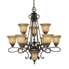 La Cecilia 10 Light Chandelier