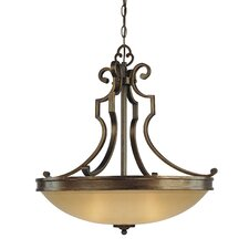 Atterbury 3 Light Inverted Pendant