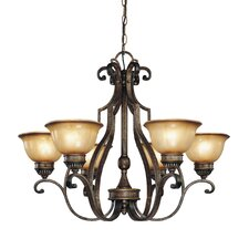 <strong>Minka Lavery</strong> Brompton 6 Light Chandelier