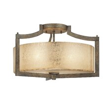 <strong>Minka Lavery</strong> Clarte 3 Light Semi Flush Mount