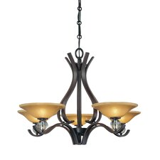 <strong>Minka Lavery</strong> Grahmton 5 Light Chandelier