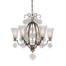 <strong>Minka Lavery</strong> Terzetto 7 Light Chandelier