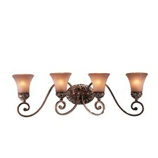 Salon Grand Jessica McClintock 4 Light Vanity Light