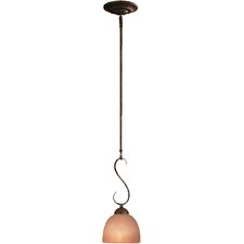 <strong>Minka Lavery</strong> Caspian 1 Light Mini Rod Drop Pendant