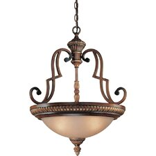 Belcaro 3 Light Inverted Pendant