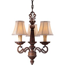 Belcaro 3 Light Mini Chandelier