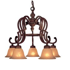 Belcaro 5 Light Chandelier
