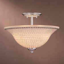 <strong>Minka Lavery</strong> 3 Light Semi Flush Mount