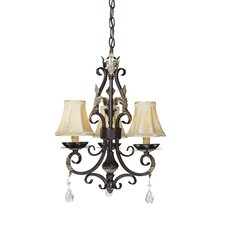 Bellasera 3 Light Mini Chandelier