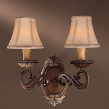 Belcaro 2 Light Wall Sconce