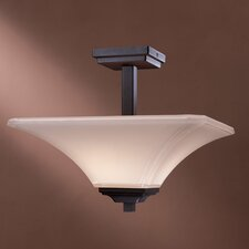 <strong>Minka Lavery</strong> Agilis 2 Light Semi Flush Mount