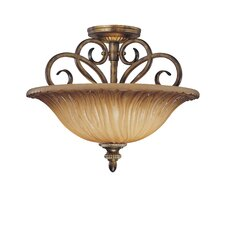 Raffine Semi Flush Mount