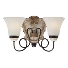 Accents Provence 2 Light Bath Vanity Light