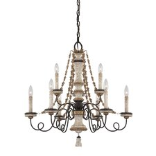 <strong>Minka Lavery</strong> Accents Provence 9 Light Chandelier
