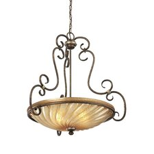 Marsoni 3 Light Bowl Pendant