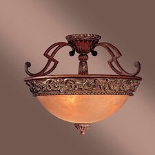 Belcaro 3 Light Semi Flush Mount