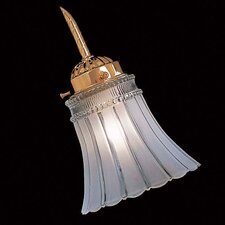 "5"" Glass Bell Ceiling Fan Fitter Shade"