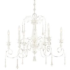 Accents Provence 6 Light Chandelier