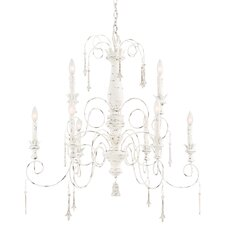 Accents Provence 9 Light Chandelier