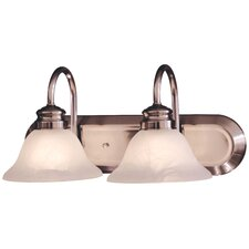 Contractor Series 2 Light Bath Vanity Light