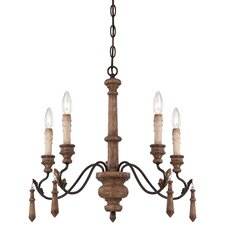 Preston Ridge 5 Light Chandelier