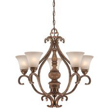 <strong>Minka Lavery</strong> Abbott Place 5 Light Chandelier