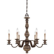 <strong>Minka Lavery</strong> Regents Row 6 Light Chandelier