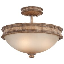 Abbott Place 3 Light Semi-Flush Mount