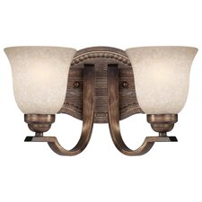 <strong>Minka Lavery</strong> Regents Row 2 Light Bath Vanity Light