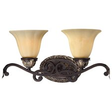 <strong>Minka Lavery</strong> Bellasera 2 Light Bath Vanity Light