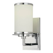 Glass Note 1 Light Wall Sconce