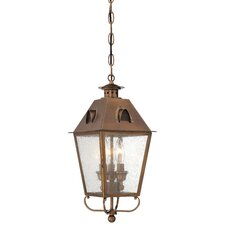 Edenshire 3 Light Chain Hung Outdoor Lantern