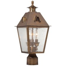 <strong>Minka Lavery</strong> Edenshire 3 Light Outdoor Post Lantern