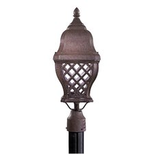 <strong>Minka Lavery</strong> Arbor Hill 1 Light Outdoor Post Lantern