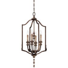 <strong>Minka Lavery</strong> Candlewood 4 Light Foyer Pendant