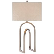 "Modern 1 Light 28.5"" H Table Lamp with Drum Shade"