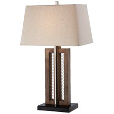 "1 Light 28.63"" H Table Lamp with Empire Shade"