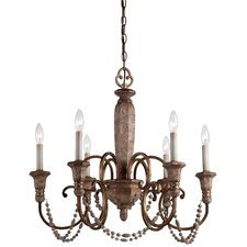 <strong>Minka Lavery</strong> Cornerstone 6 Light Chandelier
