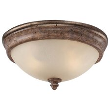 <strong>Minka Lavery</strong> Cornerstone 2 Light Flush Mount