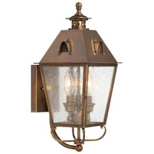 Edenshire 3 Light Outdoor Wall Sconce