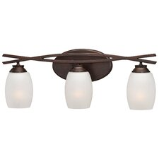 City Club 3 Light Bath Vanity Light