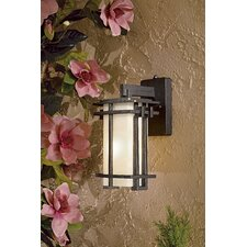 Lugarno Square 1 Light Outdoor Wall Sconce