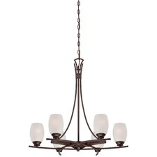 <strong>Minka Lavery</strong> City Club 6 Light Chandelier