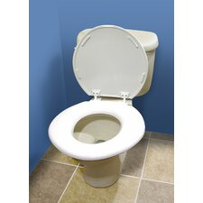 <strong>Jobar International</strong> Jumbo Comfort Toilet Seat