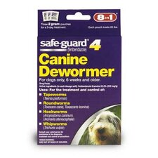 Safeguard Wormer for Medium Dogs (2 grams)