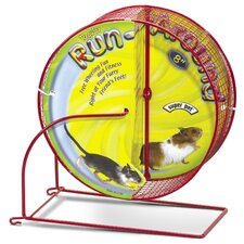 "8"" Run-Around Regular Exercise Hamster Wheel"