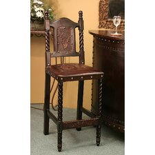 <strong>New World Trading</strong> Colonial Bar Stool