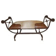 Colonial Vanity Iron Bench