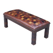 Catania Leather Entryway Bench
