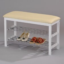 <strong>InRoom Designs</strong> Shoe Rack Bench